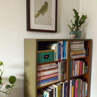 Bookcase_Buecherregal_khakigruen_Moebelaktivistin_1