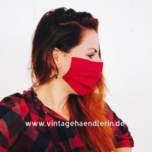 Alltagsmaske_Mund_Nasen_Maske_Kirschrot_5